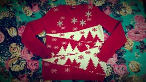 Taylor's christmas jumper